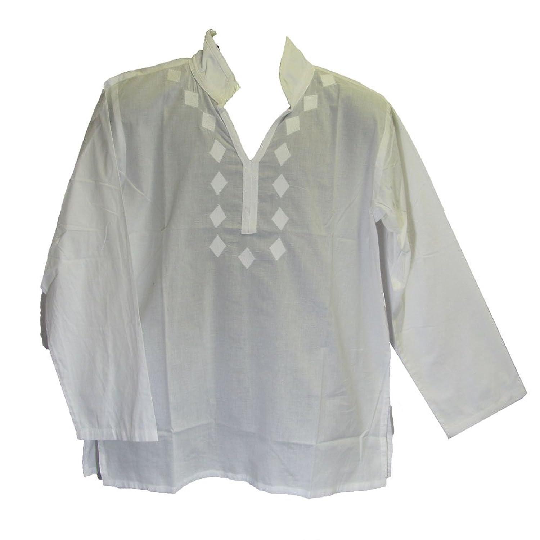 White Kurtas For Mens Kurta Tunic Shirt White