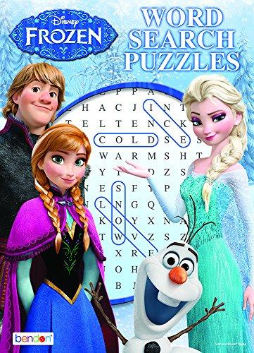 Disney Frozen Word Search Puzzles 1pcs (Random)