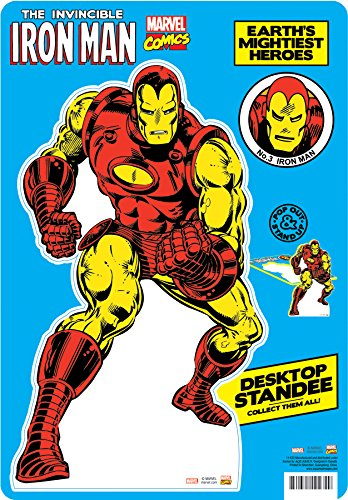 Aquarius Marvel- Iron Man Desktop Standee