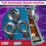 500pcs/h Automatic donut maker,donut making machine with 3 sizes moulds,counter