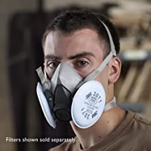 3M 6000 Series Half Facepiece Reusable Respirator