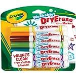 Crayola Washable Dry Erase Markers, A...