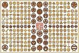 1000ピース 日本家紋コレクション 1000-479