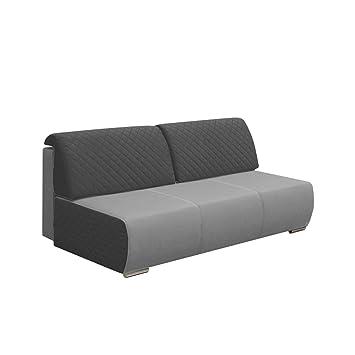 Sofa Loretta, Couch, Polstersofa, Sofagarnitur, Polstergarnitur, Modern Design, Wohnzimmer Kollektion, Elegante, Stilvoll (Sawana 21 + GKU19)