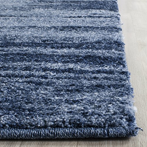 Safavieh Retro Collection RET2693-6065 Modern Abstract Light Blue and Blue Area Rug (2'6
