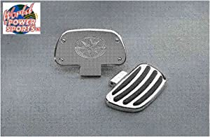 Genuine Yamaha O.E.M. Road Star / Silverado / Royal Star / V Star Billet Passenger Floorboards pt# STR-4WM57-30-01