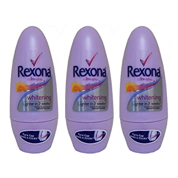 Rexona Skin Light Antiperspirant Deodorant Roll-on 40ml 3 Pack