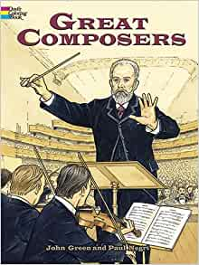 Great Composers Dover History Coloring Book Amazonco