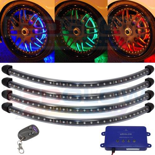 Million Color Flexible Led Wheel Well Kit