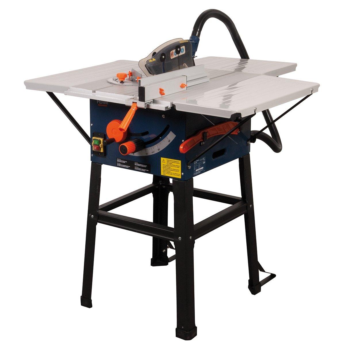 Ferm TSM1031 Tischkreissäge 1700 W, 254 mm  BaumarktKundenbewertung und weitere Informationen