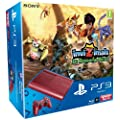 Console PS3 Ultra slim 12 Go rouge + Invizimals : Le Royaume Perdu