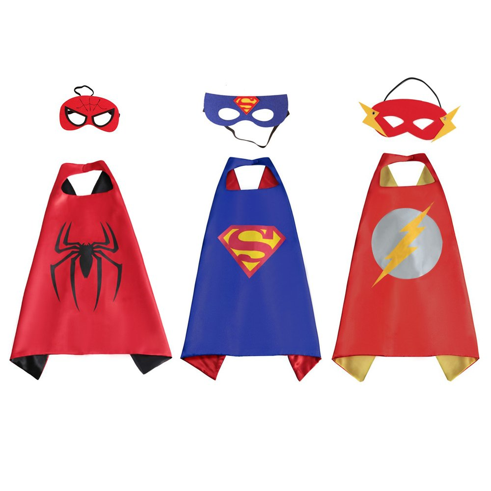 Dress Up Pretend Play Images On: Superhero Cape And Mask Sets For Kids Comics Pretend Play