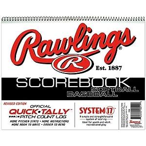 Buy 2 Pack: Rawlings System 17 Baseball Softball Scorebook by Rawlings