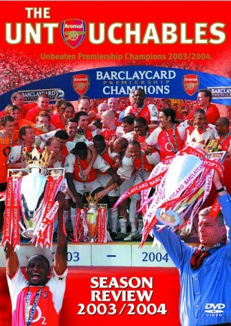 Arsenal Fc - End of Season 2003/04 [DVD]