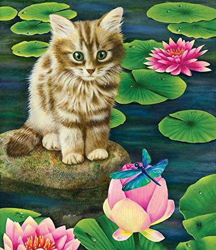 Lily's Pond a 200-Piece Jigsaw Puzzle by Sunsout Inc.