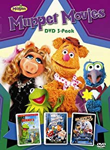 Muppets Movies Collection Box Set (Muppets Take Manhattan / Muppets From Space / Kermit Swamp Years) (Bilingual)