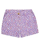 Sense Organics PORZIA Shorts hibiscus-short Niños    Violett (hibiscus AOP 887015) 98 cm