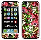 iPhone5cCHEKO(東欧,チェコ,花柄,ファブリック,モダン)