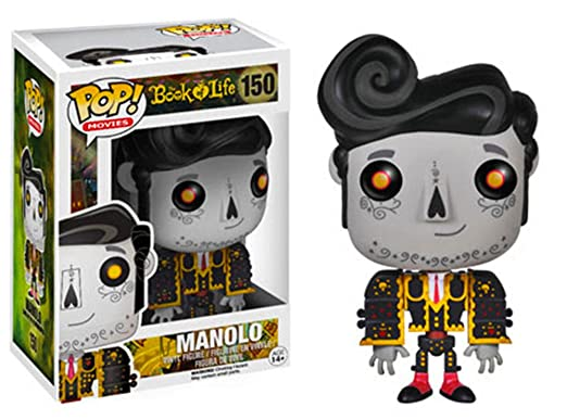 Funko POP Movies Action Figure: Book of Life - Manolo Remembered: Toys & Games