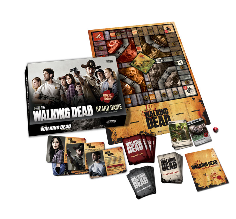 the walking dead board game how to play