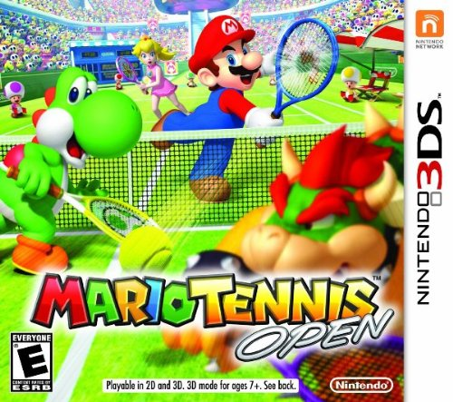 Mario Tennis Open back-511356