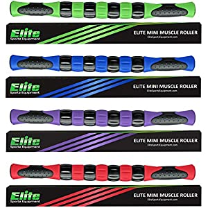 "Elite Sportz Muscle Massage Roller Stick for Athletes - Fast Muscle Relief from Sore and Tight Leg Muscles and Cramping 16""."