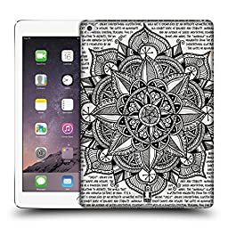 Head Case Designs Paper Mandala Doodles Protective Snap-on Hard Back Case Cover for Apple iPad Air 2