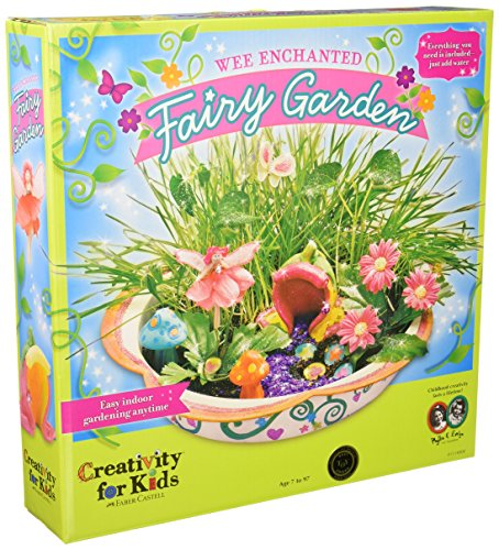 enchanted fairy garden kit for young kids