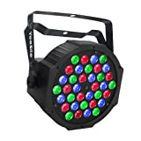 Led Par Lights, YeeSite Par Lights for Stage Lighting with 36 LEDs RGB Wash Light by IR Remote and DMX Control for DJ Wedding Church Stage Lights