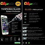 OAproda Apple iPhone SE/ iPhone5 / iPhone5s / iPhone5c対応 液晶保護強化ガラスフィルム スクリーン保護フィルム スマートフォン 透明フィルム日本素材採用硬度9H 超薄0.3mm ラウンドエッジ加工 簡単取付 4インチ【60日品質保証】