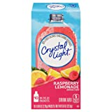 Crystal Light Drink Mix, Raspberry Lemonade, On The Go Packets, 10 Count (Pack of 6 Boxes) (Tamaño: 10 Count (Pack of 6))