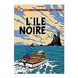 Tintin Poster de Tintin - L'ile Noire...