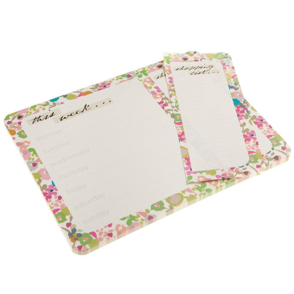Caroline Gardner Ditsy Flowers  Design Print Weekly Planner and List