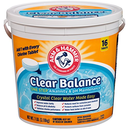 Arm & Hammer Clear Balance Pool Maintenance Tablets
