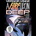 A Fire Upon the Deep (       UNABRIDGED) by Vernor Vinge Narrated by Peter Larkin