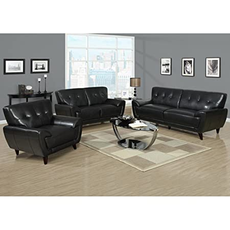Anton Leather Loveseat -