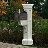 Mayne 5805-WH Liberty Mailbox Post, White