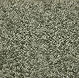 """10'x12'Sage Area Rug Carpet. MULTIPLE SIZES, SHAPES and COLORS TO CHOOSE FROM. Home area rugs, runner, rectangle, square, oval and round. Hem-stitching on all four sides. 25 oz. Face Weight. 1/2"""" Thick. Polyester. Loose and Soft Frieze."""