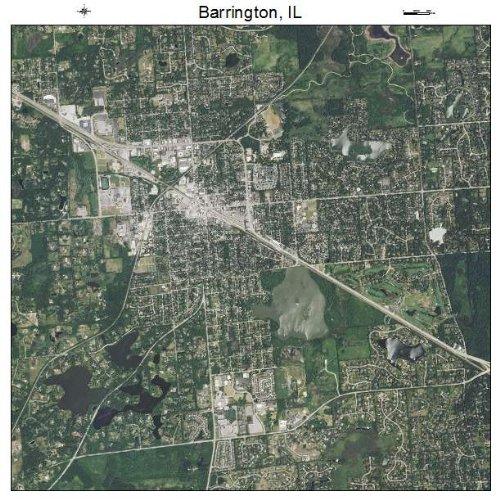 Aerial Photography Map of Barrington, Illinois