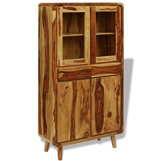 Vidaxl Vidaxl credenza armadio cassapanca mobile legno Sheesham 90x 40x 175cm