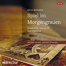 Spiel im Morgengrauen Hörbuch von Arthur Schnitzler Gesprochen von: Gert Westphal