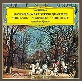 ハイドン:弦楽四重奏曲「ひばり」「皇帝」/モーツァルト:弦楽四重奏曲「狩り」