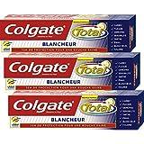Colgate - Total Blancheur Dentifrice - 75 ml - Lot de 3