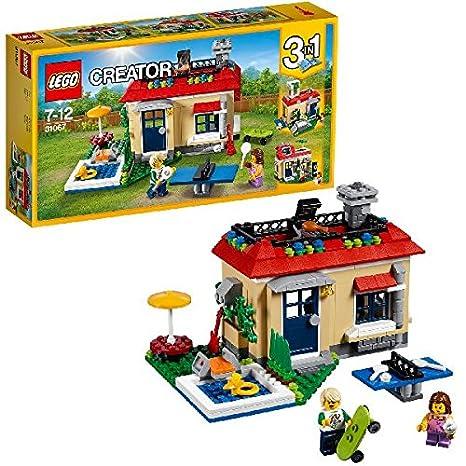 LEGO - 31067 - Creator - Jeu de Construction - Les vacances à la piscine