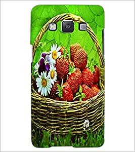 PrintDhaba Flower Bucket D-3416 Back Case Cover for SAMSUNG GALAXY A5 (Multi-Coloured)