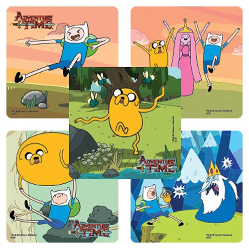 Adventure Time Stickers -75 per pack