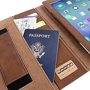 Snugg iPad 2 Case - Executive Smart Cover With Card Slots & Lifetime Guarantee (Camo Leather) for Apple iPad 2