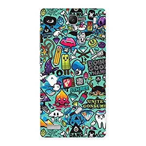 Cute Candy Back Case Cover for Redmi Note Prime