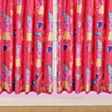 Character World 72-inch Peppa Pig Funfair Curtains