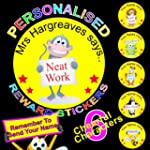 108 REWARD STICKERS PERSONALISED Idea...